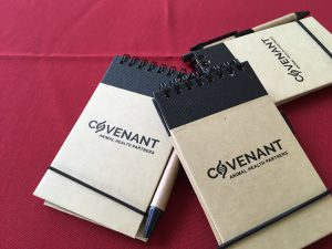 Covenant note pads